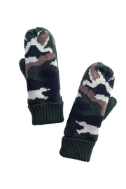 Pretty Little Things Fleece Lined Mittens - Front cropped