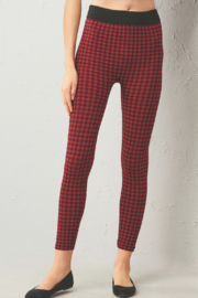 Giftcraft Inc.  Fleece Lined Plaid Leggings - Product Mini Image