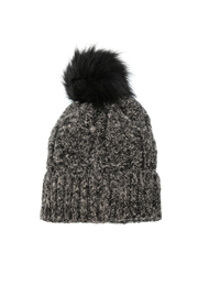 Joy Accessories Fleece Lined Pom Pom Hat - Product Mini Image