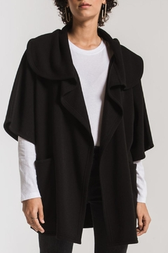Shoptiques Product: Fleece Oversize Cardigan
