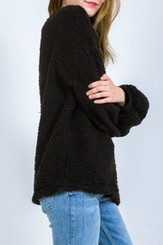 Very J Fleece Poodle Pullover - Front full body