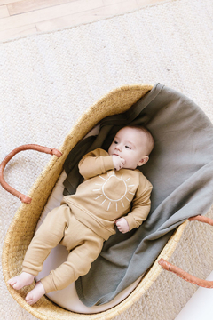 Shoptiques Product: Fleece Sweatsuit Set  - Honey Sun