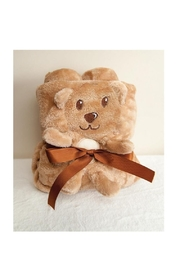 MWW Fleece Teddy Bear Blanket - Product Mini Image