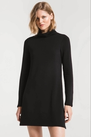 z supply Fleece turtle neck dress - Product Mini Image
