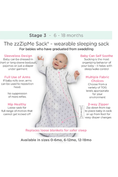 Swaddle Designs Fleece zzZipMe Sack - Alternate List Image
