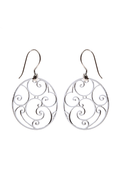 Shoptiques Product: Cabildo Wrought Iron Earrings