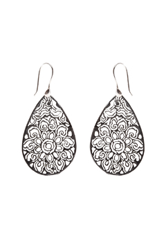Shoptiques Product: Tibetan Lotus Earring