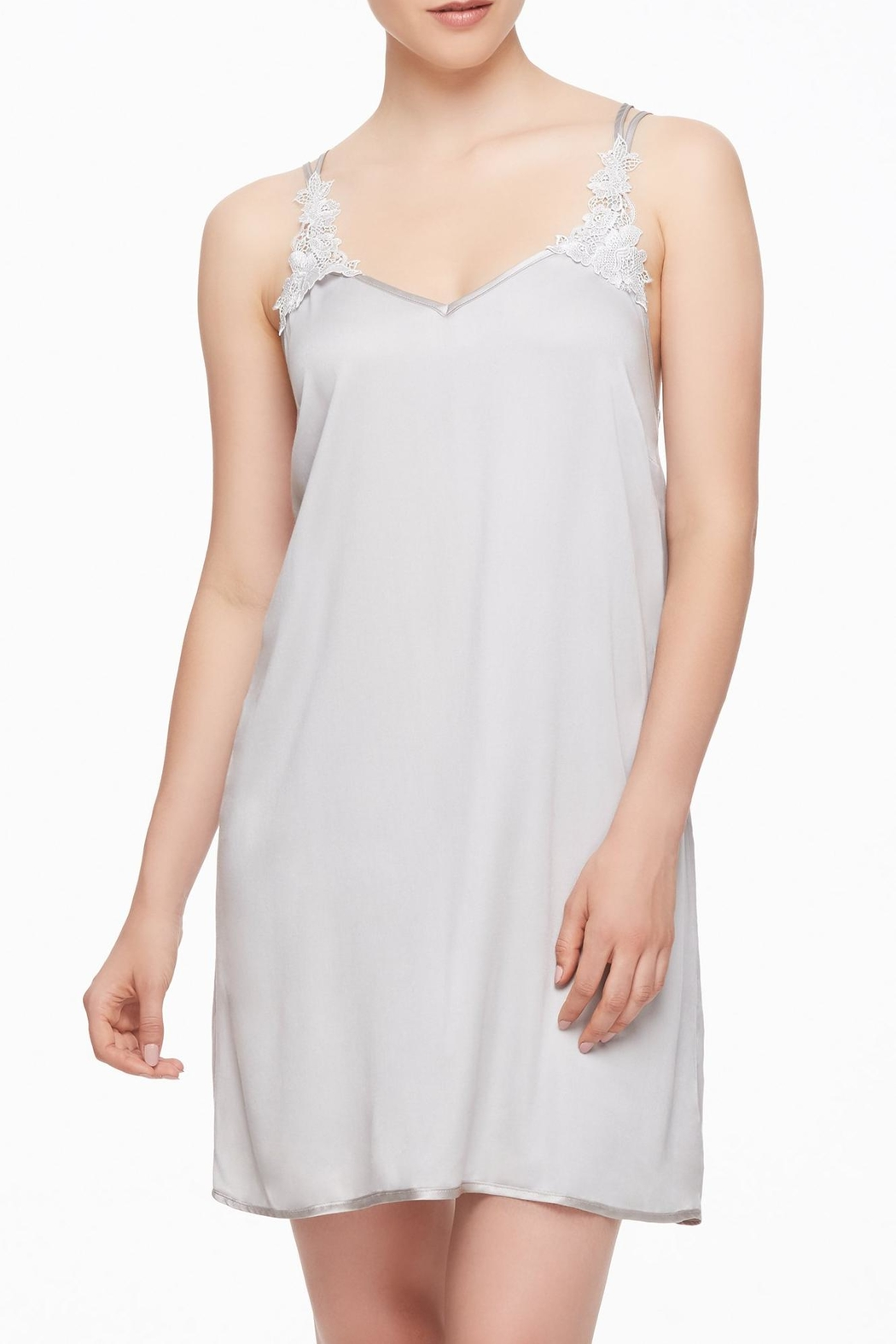 Fleur't Strappy Guipure Chemise - Main Image