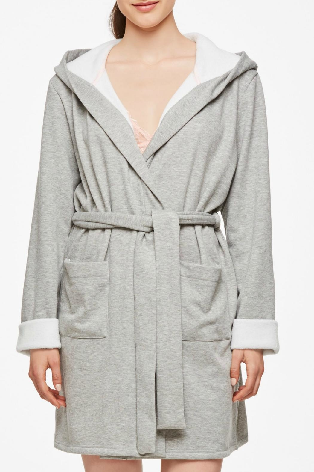Fleur't With Me Comfy Winter Robe - Main Image