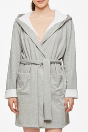 Fleur't With Me Comfy Winter Robe - Front cropped