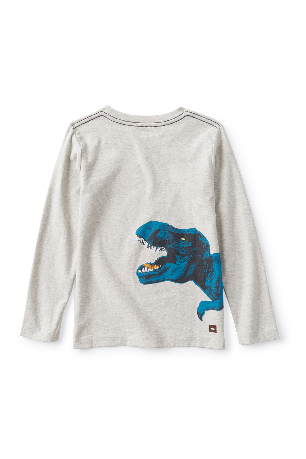 Tea Collection  Flexin' Rex Dino Graphic Te - Front Full Image
