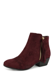 Nature Breeze Flick Burgundy Bootie - Product Mini Image