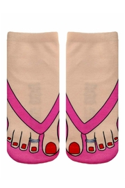 Living Royal Flip Flop Socks - Product Mini Image
