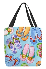 Sally Eckman Roberts Flip Flop Tote - Product Mini Image