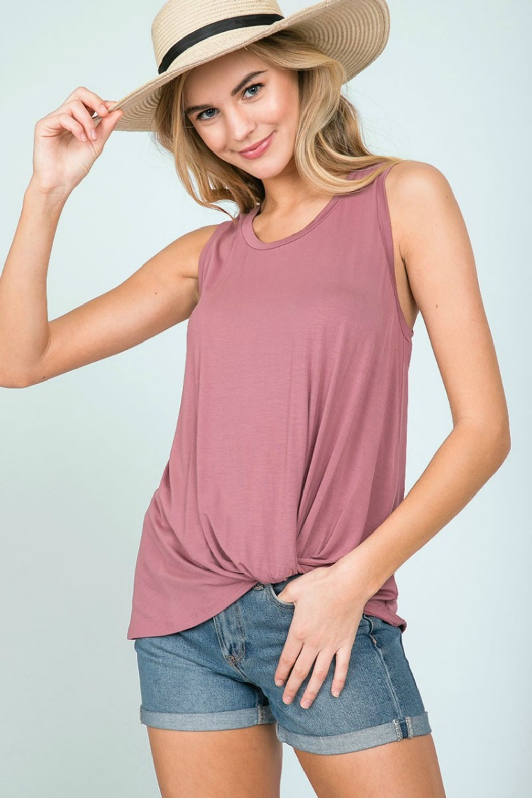 Emma's Closet FLIP FRONT TANK - Front Cropped Image
