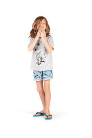Paper Wings Flippin Classic Organic T Shirt - Side cropped