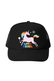 Bubu Flippin Magical Unicorn Trucker Hat - Product Mini Image