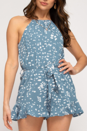 She and Sky Flirting with Fun romper - Product Mini Image
