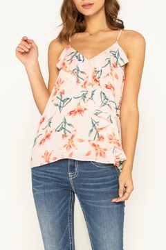 Miss Me Flirty Floral Cami-Top - Product List Image