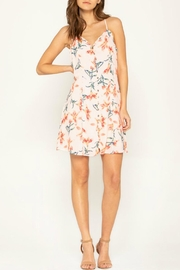 Miss Me Flirty Floral Shift-Dress - Product Mini Image