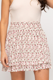She and Sky Flirty Floral skirt - Product Mini Image