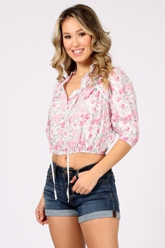 Funky Flirty Floral Top - Product List Image