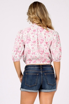 Funky Flirty Floral Top - Alternate List Image