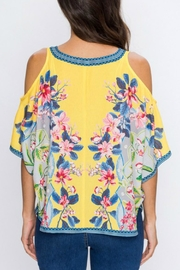 Imagine That Flirty Floral Top - Front full body