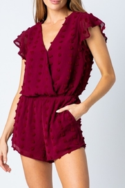 BaeVely Flirty & Fun romper - Front cropped