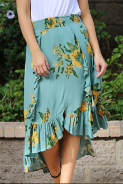 Nostalgia Flirty Garden Skirt - Product List Image