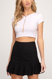 She & Sky  Flirty Girl skirt - Product Mini Image