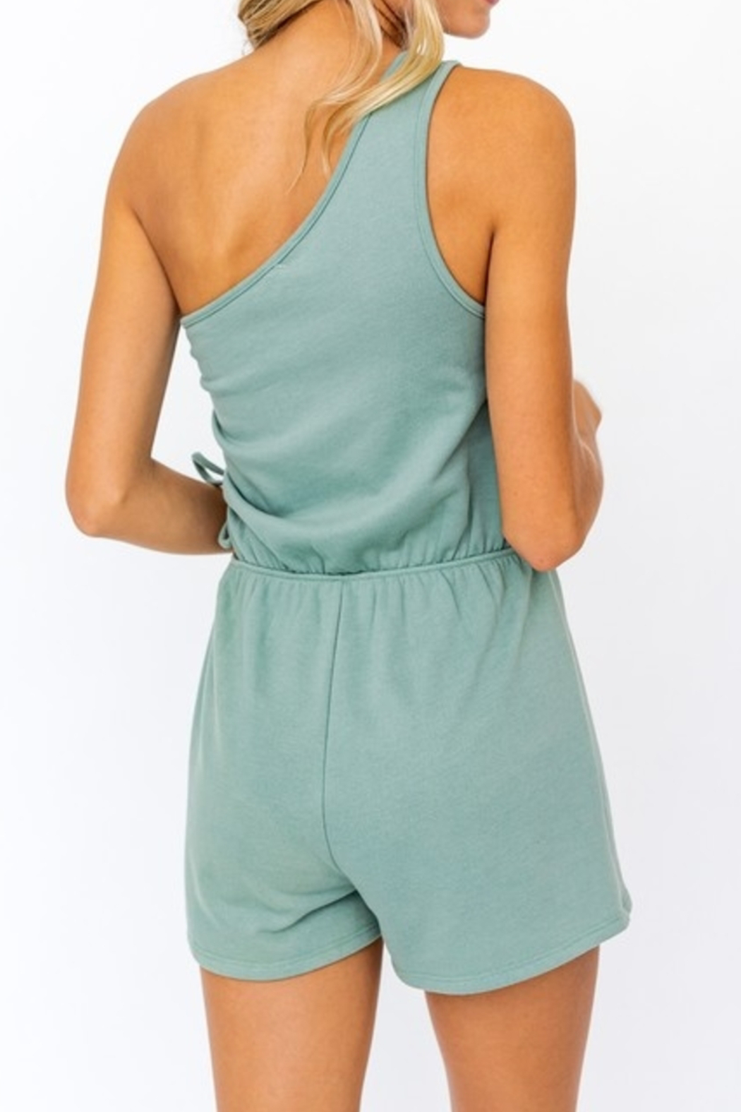 Le Lis Flirty & Thriving Romper - Side Cropped Image