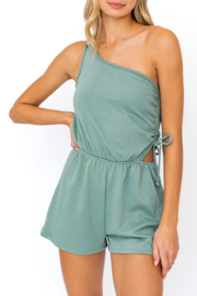 Le Lis Flirty & Thriving Romper - Front cropped