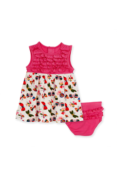 Shoptiques Product: Flitter Flutter Dress & Diaper Cover