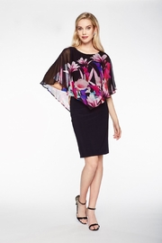 Frank Lyman Floarl Overlay Dress - Product Mini Image