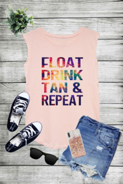Caramelo Trend FLOAT DRINK TAN & REPEAT - Alternate List Image