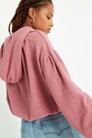 Project Social T Float On Ruched Back Hoodie - Product Mini Image
