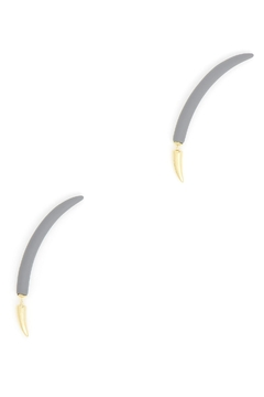 Zenzii Floating Studded Earrings - Alternate List Image