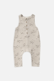 Rylee & Cru Flock Button Jumpsuit - Front cropped