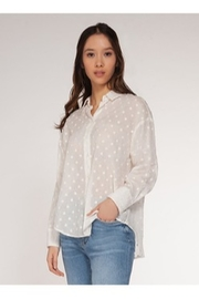 Dex Clothing Flock Dot Blouse - Product Mini Image