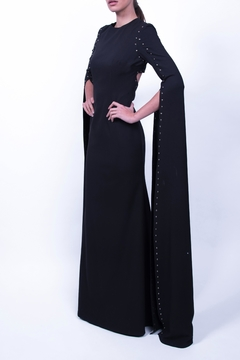 Viesca y Viesca Floor-Length Sleeve Gown - Product List Image