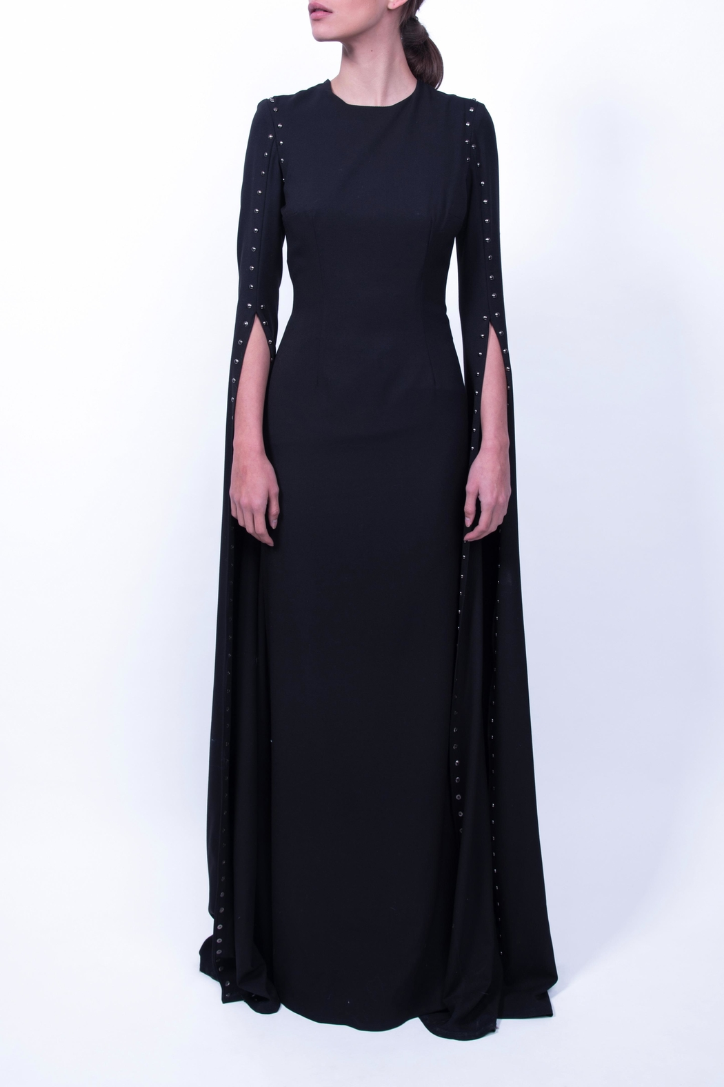 3918bee3a3c Viesca y Viesca Floor-Length Sleeve Gown from Mexico — Shoptiques