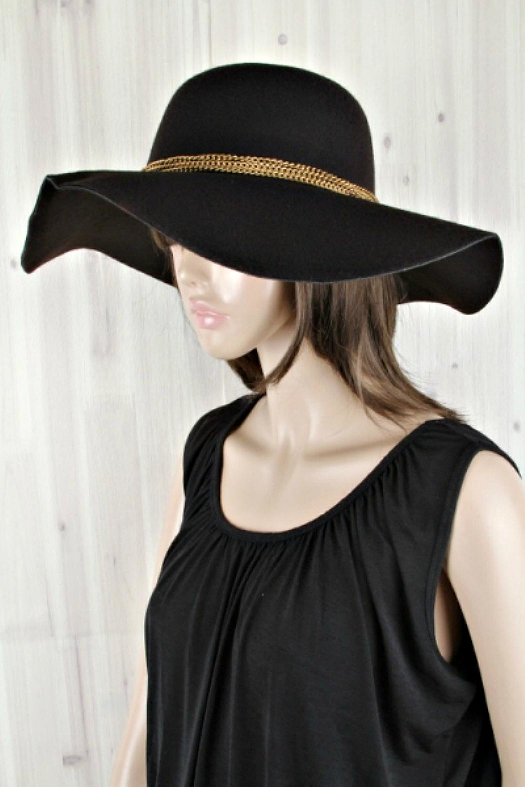 Girly Floppy hat - Front Cropped Image