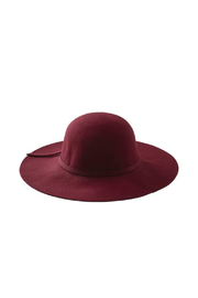 Tickled Pink Floppy Wide Brim Wool Hat - Product Mini Image