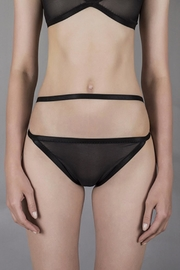 Flor del Mal Panty With Harness - Front cropped