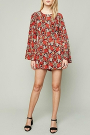 Hayden Los Angeles Flora Bell-Sleeve Romper - Product Mini Image