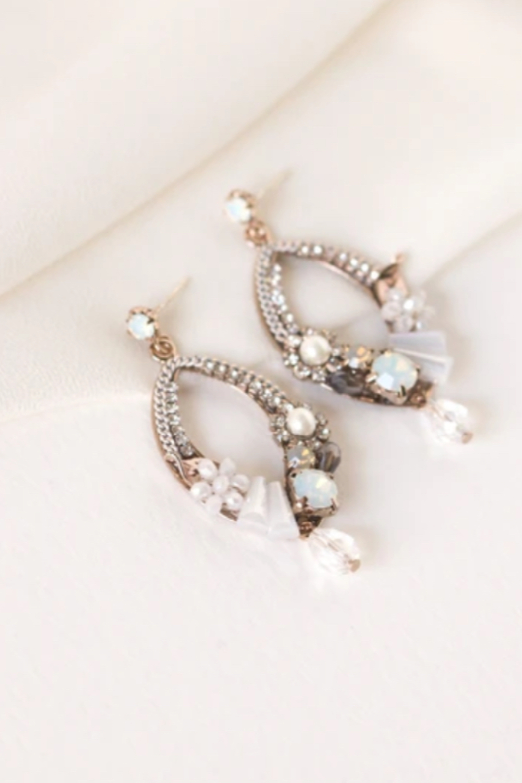 Lovers Tempo  Flora Deco Drop Earrings - Side Cropped Image