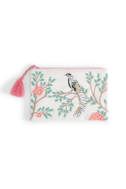 Two's Company Flora & Fauna Beaded Pouches - Product Mini Image