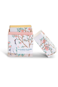 Two's Company Flora & Fauna Deck Of Cards - Product List Image