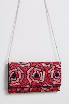 From St. Xavier  Flora Beaded Clutch - Product List Image
